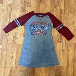 🌸2/$20.00🌸 Montreal Canadiens Night Dress